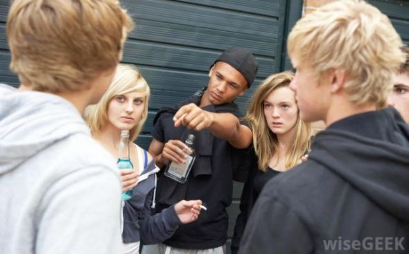 group-of-teens-with-alcohol-and-cigarettes