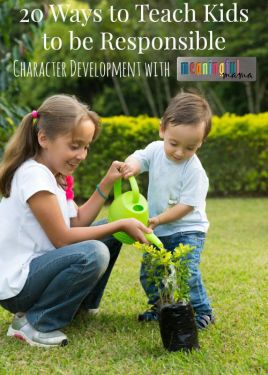 20-Ways-to-Teach-Kids-to-be-Responsible-Character-Development-Series
