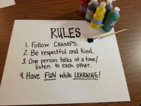 rules before hands