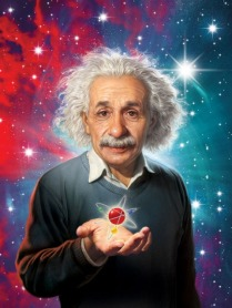 a-einstein-digital-art-digital-art-by-mark-fredrickson