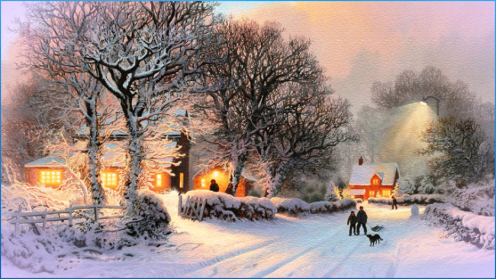 winter-village