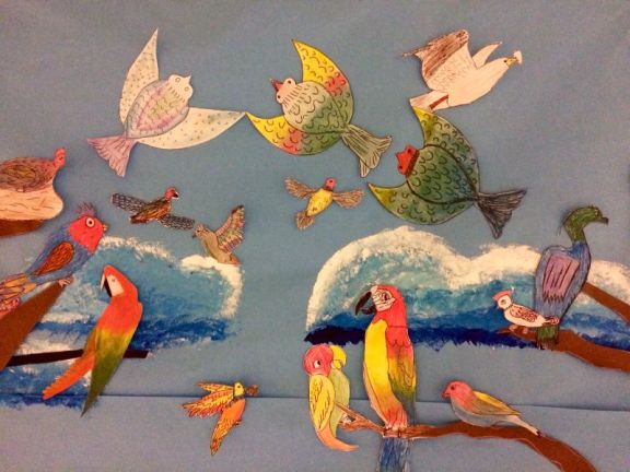 parrots-draw-bird