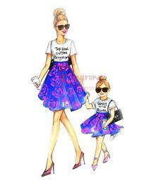 mama+fiica