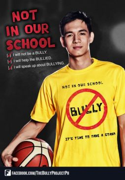 Anti-Bully campagne-Poster-Chris Tiu