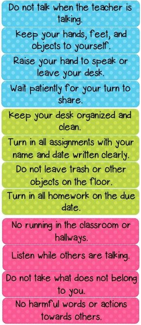 Class-rules-1