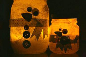1-snowmanluminaries-2